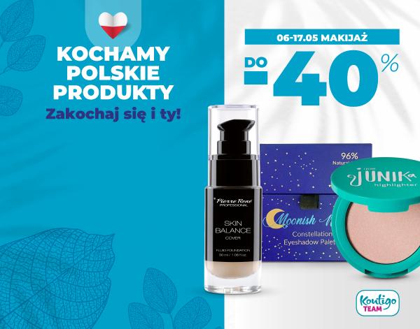 6-17.05. Polskie marki: makijaż do -40%