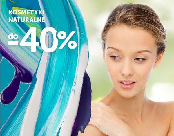 14.09-30.09 Kosmetyki naturalne - ciało i włosy do -40%