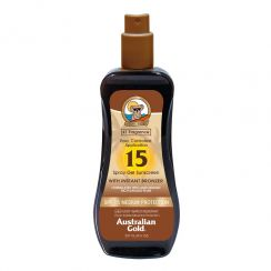 Spray do opalania z bronzerem SPF 15
